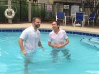 Baptism of Juan Carlos