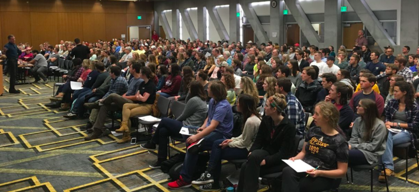 DEFENDING THE FAITH: RATIO CHRISTI BRINGS CHRISTIAN DISCUSSION TO ASU